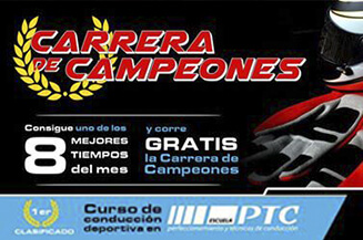 carrera de campeones banner kartingmarineda