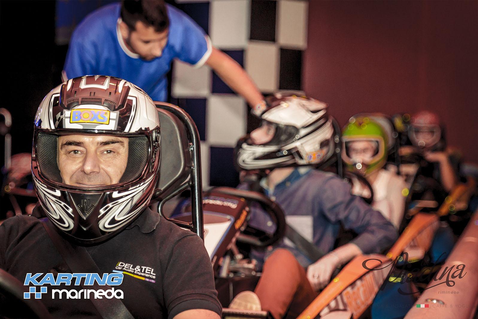 Fiesta Karting Marineda + Piadina