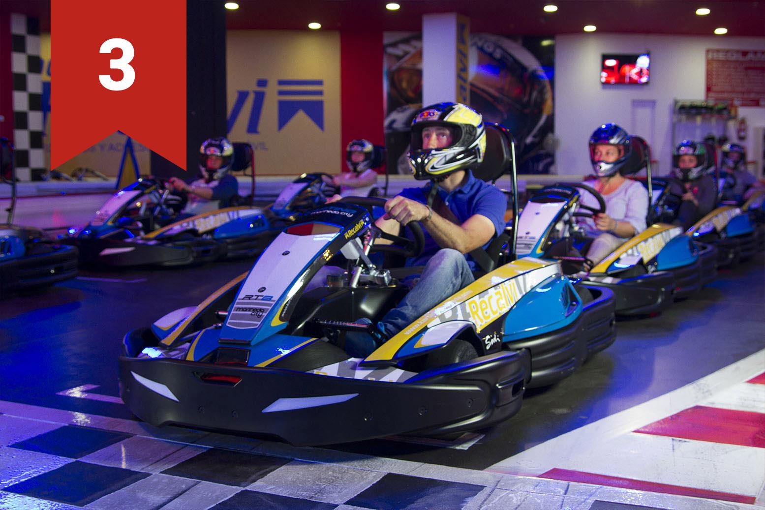 Kart Competición Pack 3 CARRERAS
