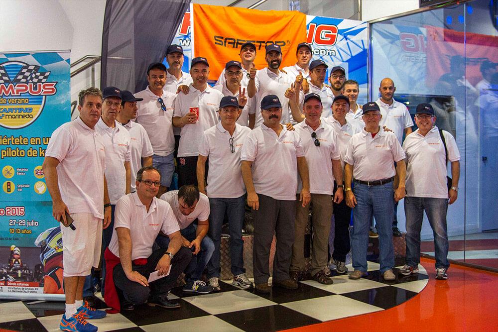 Liga Campeonato Entre Empleados Karting Marineda