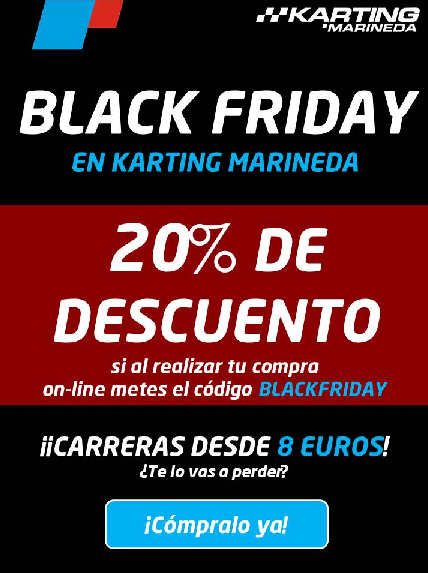 El Black Friday Se Cuela En Karting Marineda