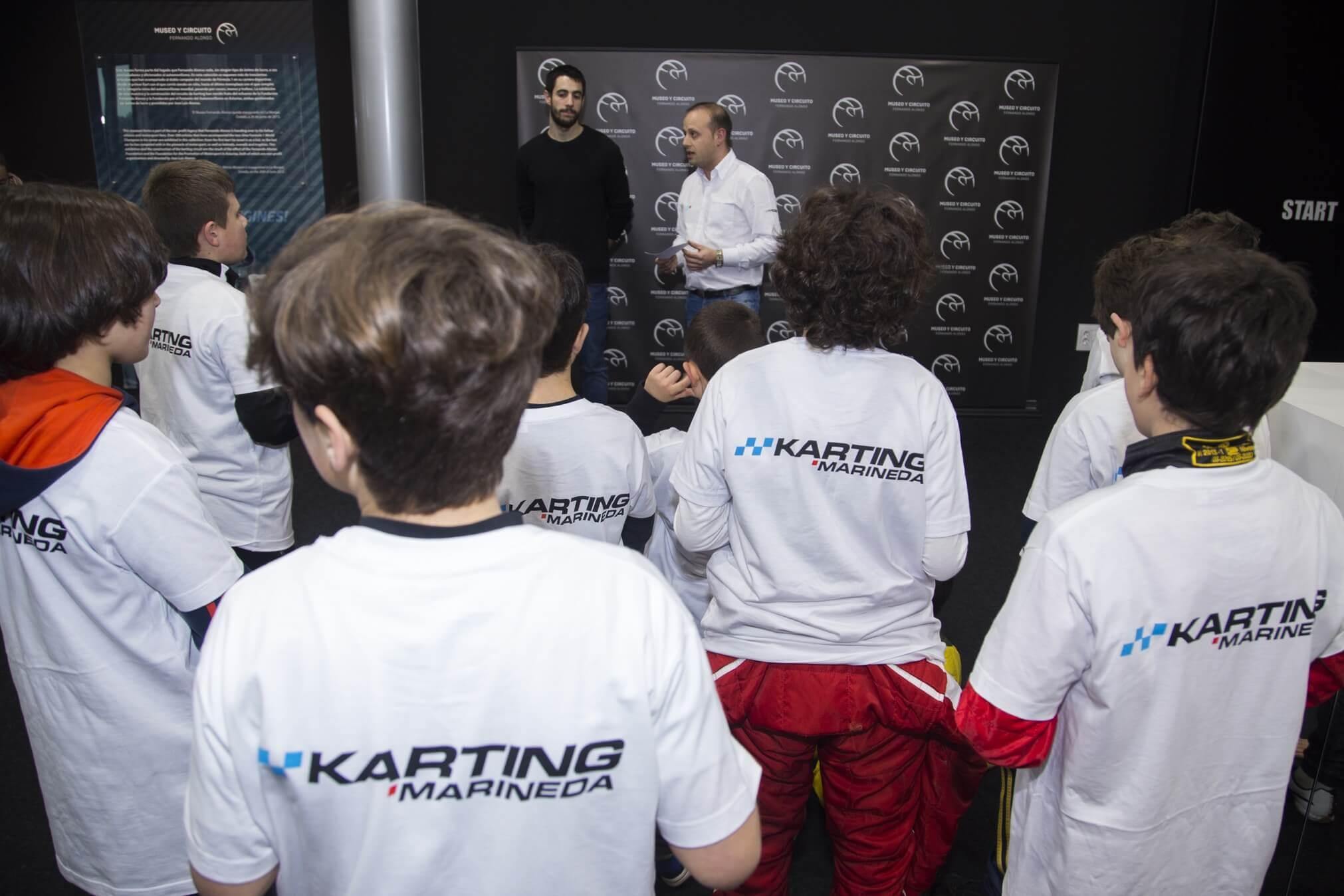 La Factoría De Karting Marineda Beca A 6 Pilotos En El Circuito De Fernando Alonso.