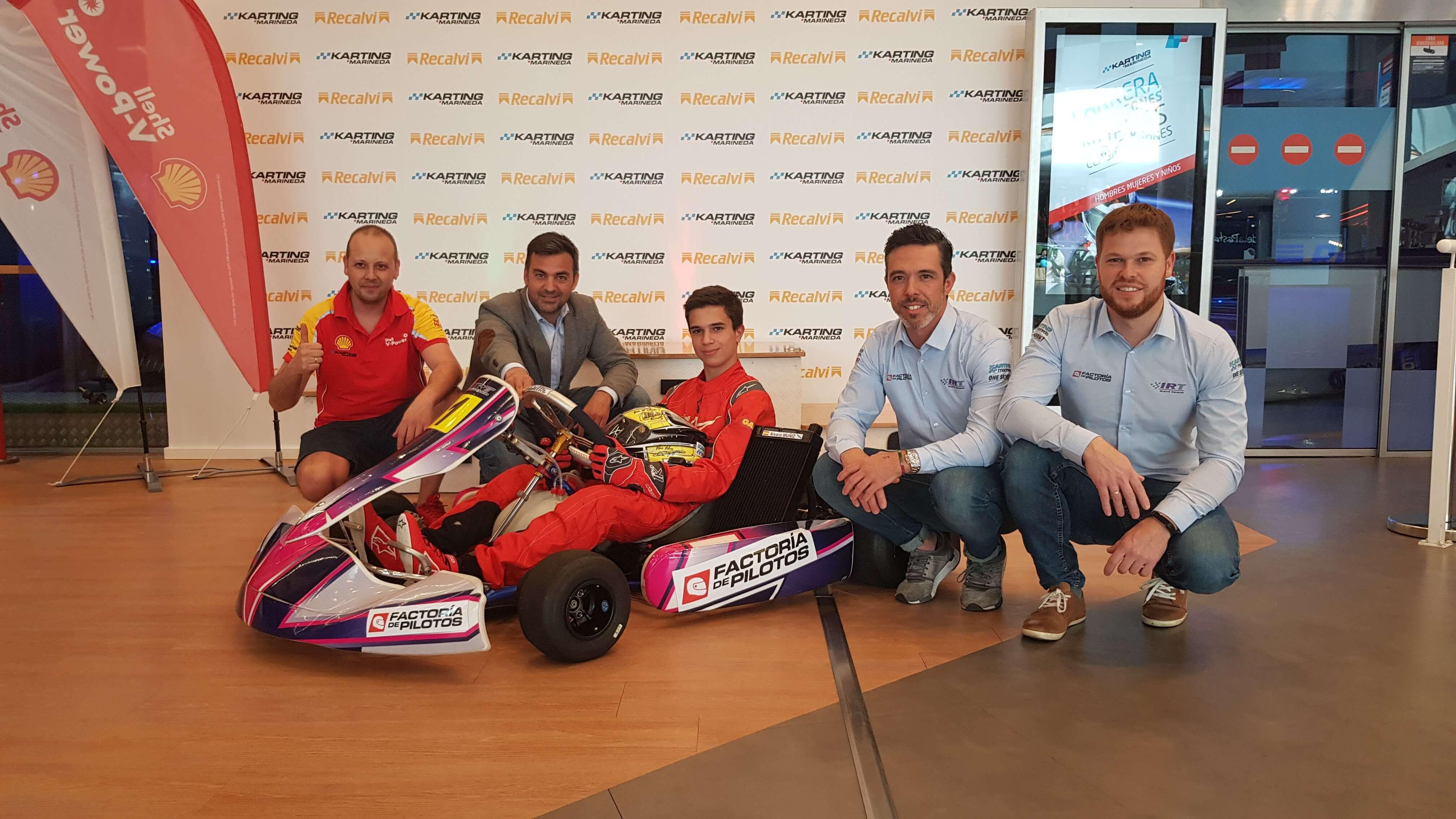 Entrevista A Álvaro Muñiz: El Kart Es El Mejor Lugar Donde Iniciarte En El Automovilismo