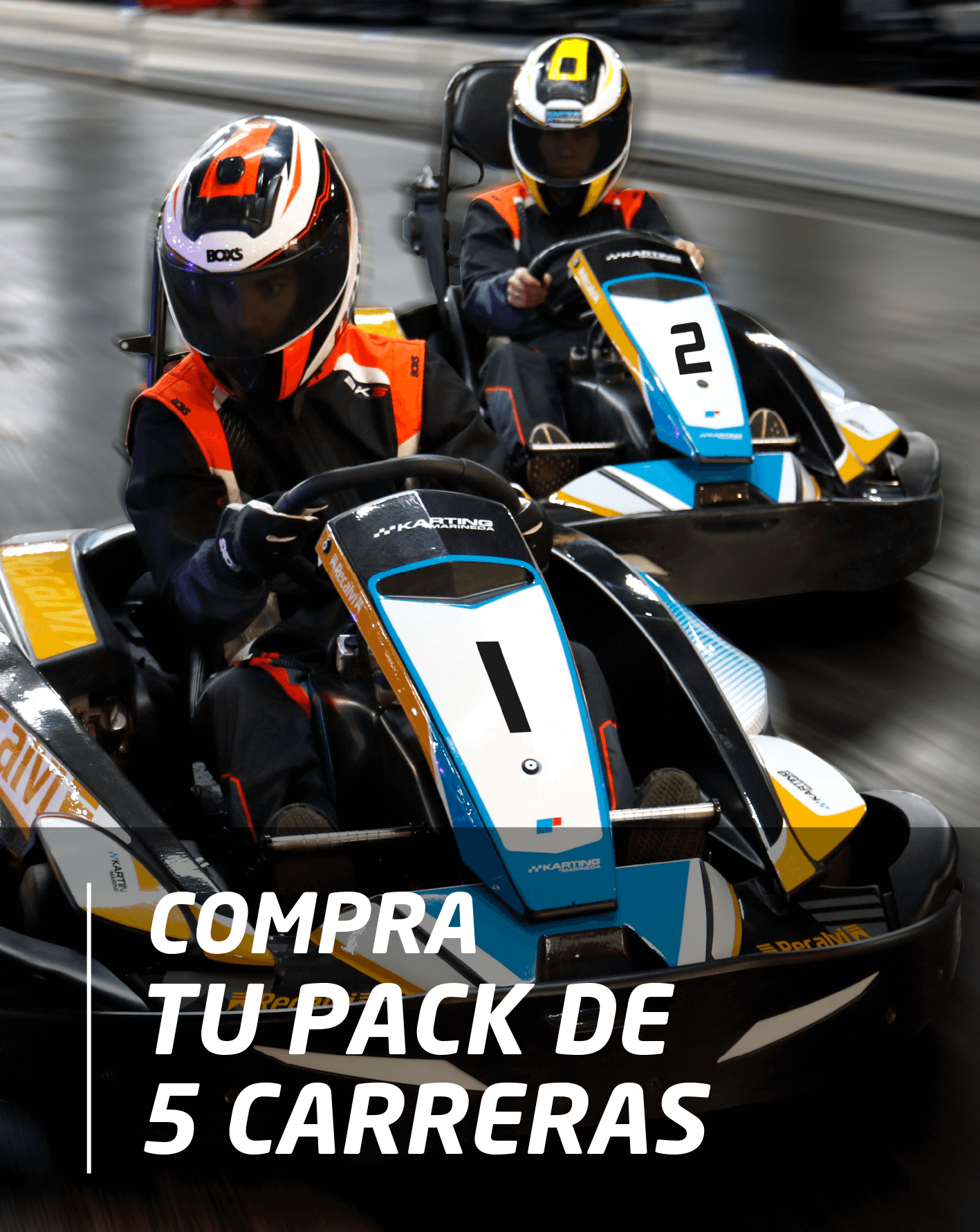 Pack 5 Carreras Por 29,95