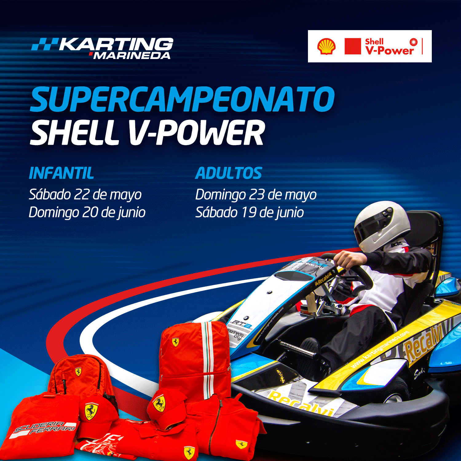Supercampeonato Shell V-Power / 1 Prueba